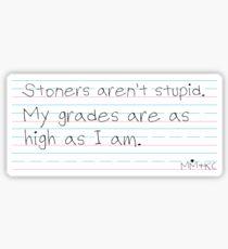 Grades Sticker