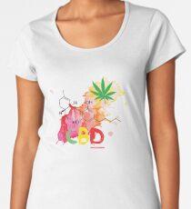 CBD Splash Premium Scoop T-Shirt