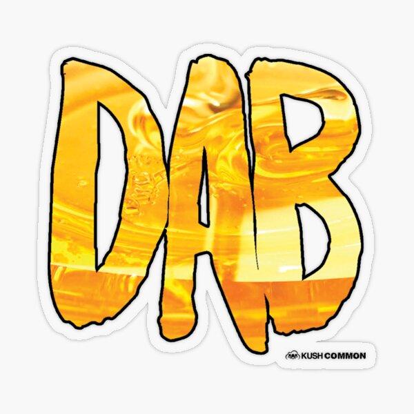 DAB Honey Transparent Sticker