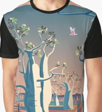 Bilbies and Boabs - Western Australia Graphic T-Shirt