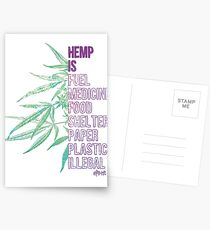 Hemp is Postcards