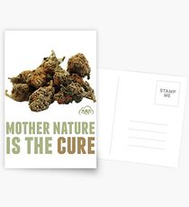 Mother Nature is the Cure Postcards
