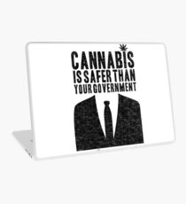 Cannabis is Safer Than Your Government Laptop Skin