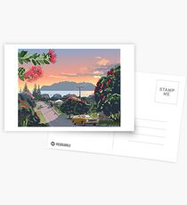 Great Barrier Island - Road to Leigh Postcards