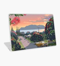 Great Barrier Island - Road to Leigh Laptop Skin