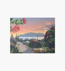 Great Barrier Island - Road to Leigh Art Board