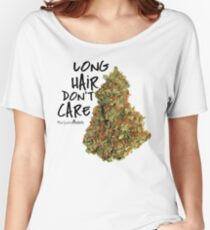 Long Hair Don't Care Women's Relaxed Fit T-Shirt