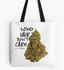 Long Hair Don't Care Tote Bag