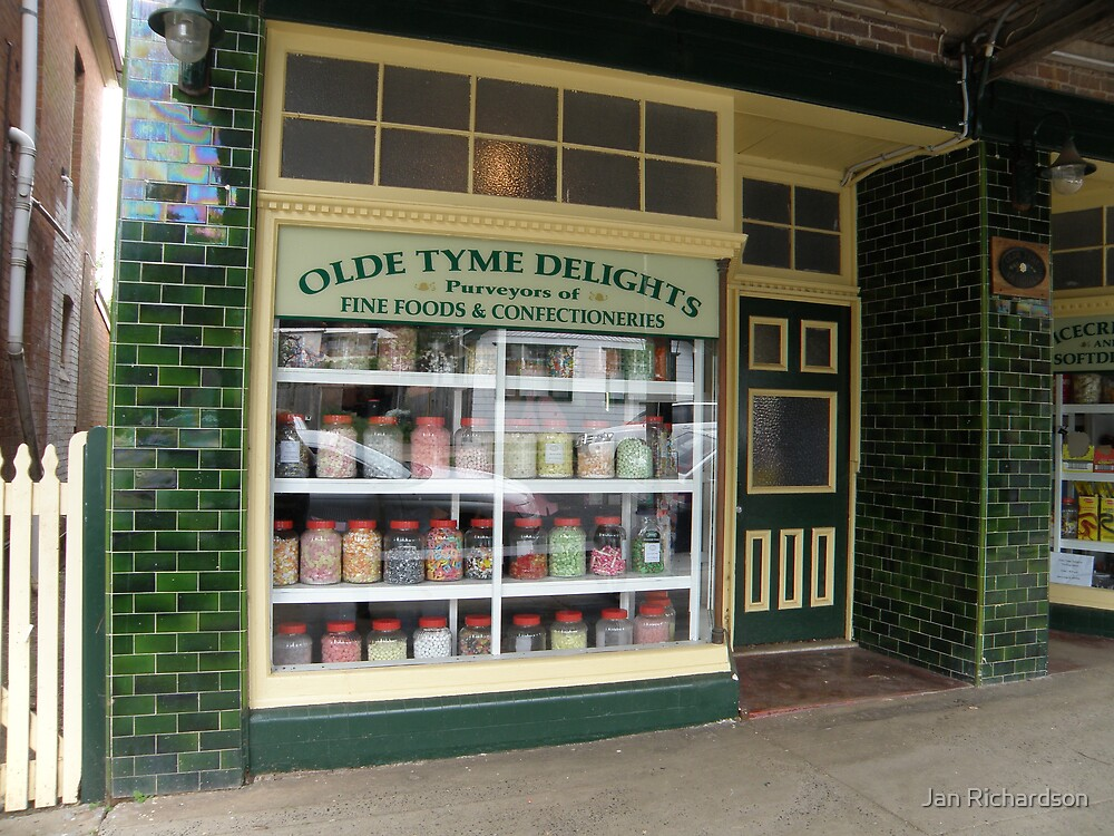 The Lolly Shop, Millthorpe by Jan Richardson