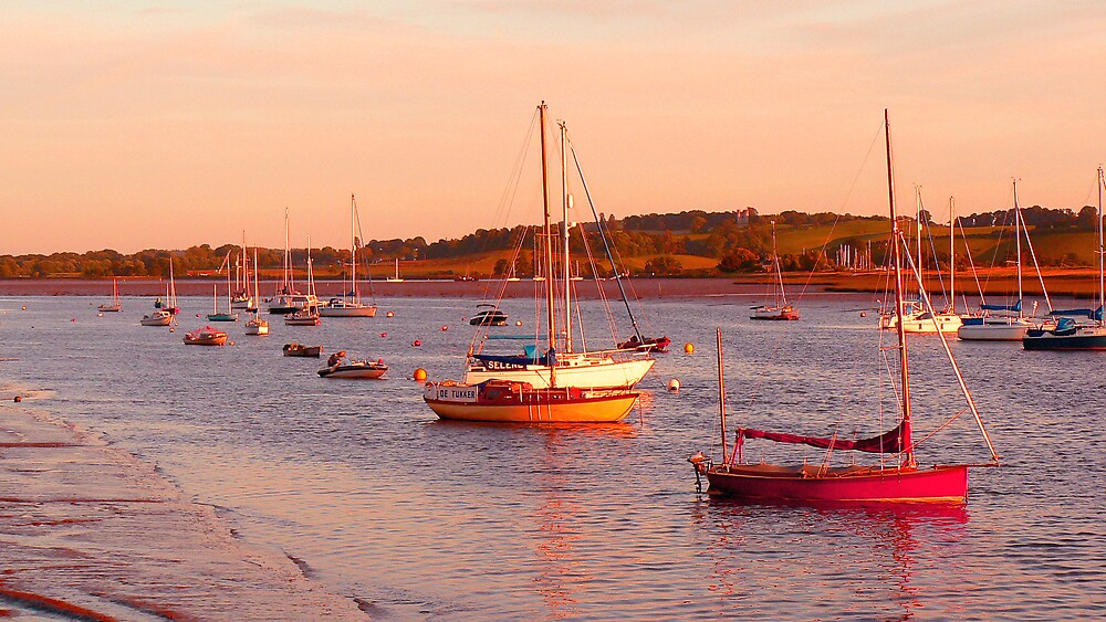Sunset on the River Exe  by JPPhotography