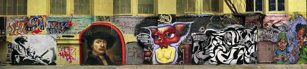 Rembrandt & Cat by Grazyna Kleinman