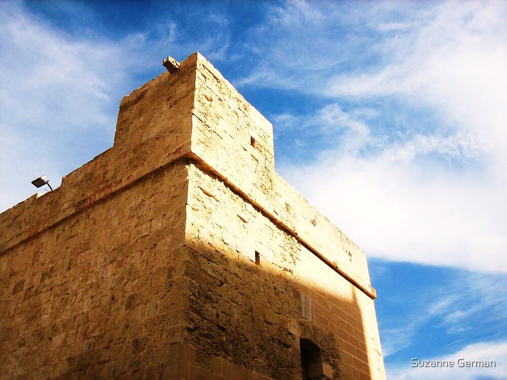 Tower, St Julian's, Malta. by Suzanne German