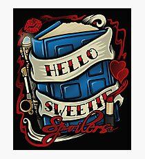 Hello Sweetie (pillow) Photographic Print