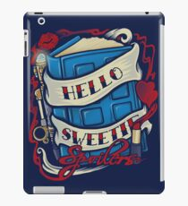 Hello Sweetie (pillow) iPad Case/Skin