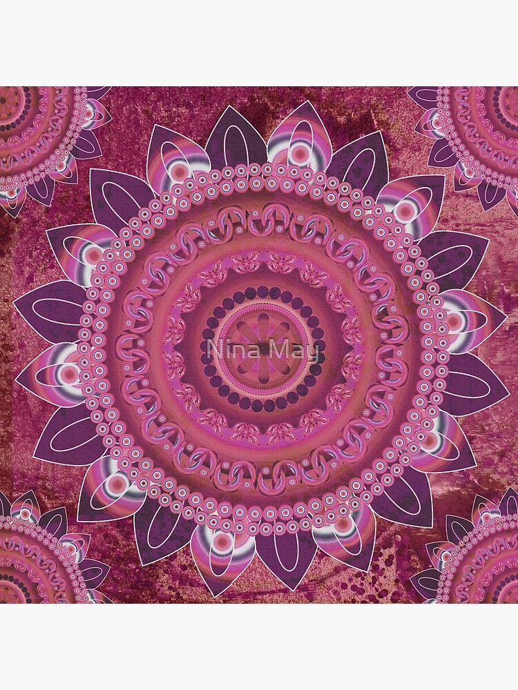 Rose Sea Mandala by ninabmay
