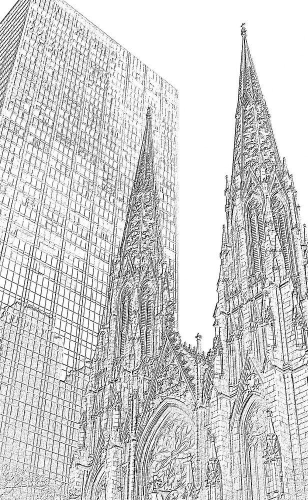 ST.PATRICK`S CATHEDRAL by BOLLA67