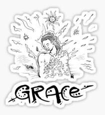 Grace - Drawn by Nataraaj Sticker
