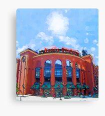 Busch Stadium Sky! Canvas Print