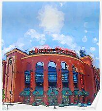 Busch Stadium Sky! Poster