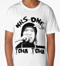 T'Cha T'Cha Krs-One Old School Hip Hop Shirt Long T-Shirt