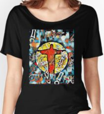 'Christ The Redeemer - Corcovado' Women's Relaxed Fit T-Shirt