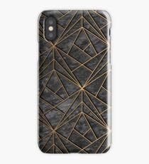 Elegant Geometric Modern Rock Pattern iPhone Case/Skin