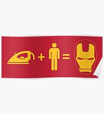 Ingredients to make a SUPERHERO Poster