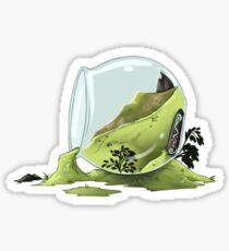 Spilt Terrarium Sticker