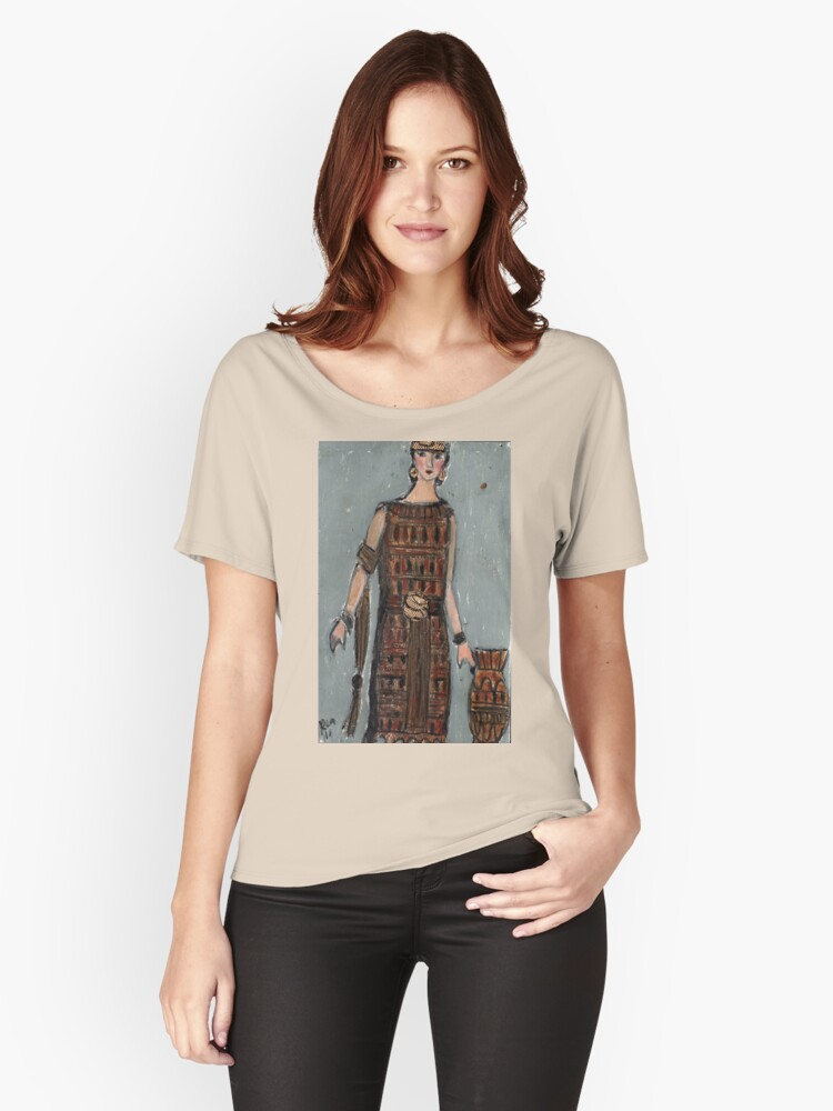 Cleo Women's Relaxed Fit T-Shirt Front