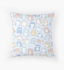 Kitty Dance Off! Throw Pillow