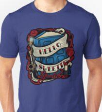 Hello Sweetie (sticker) Unisex T-Shirt
