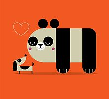 Panda Love by Sorbetto