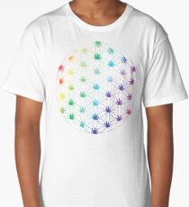 Flowers of Life Long T-Shirt