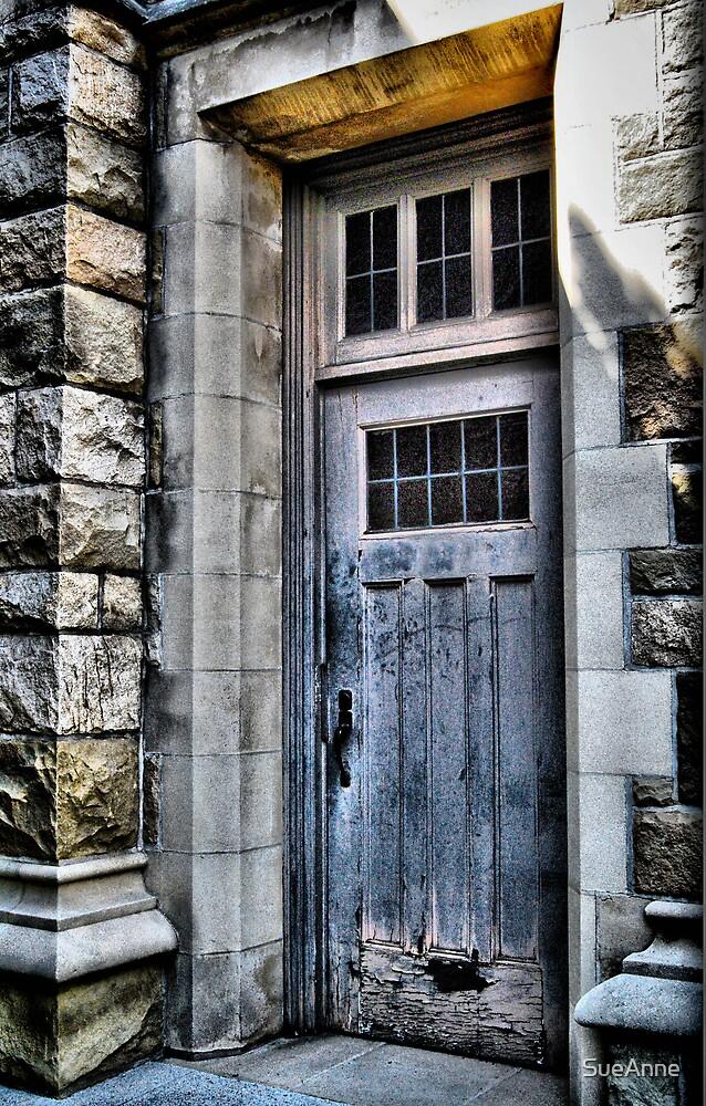 Church Back Door  by SueAnne