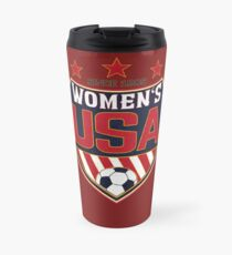 USA Women's Soccer National Shield seit 1985 Thermobecher