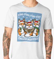 """What does the Fox Sing""  (sticker) Men's Premium T-Shirt"