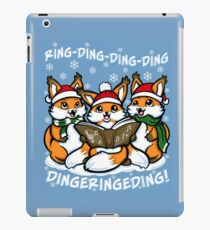 """""""What does the Fox Sing""""  (sticker) iPad Case/Skin"""