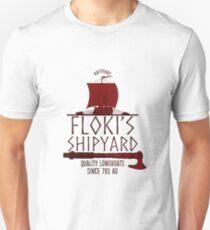 Floki's Shipyard Unisex T-Shirt