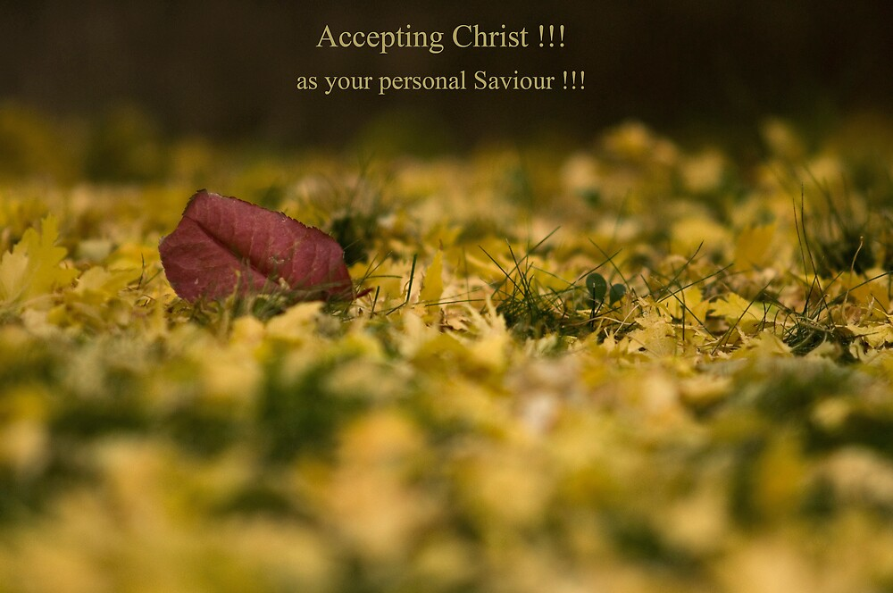 Accepting Christ. by RedZenda