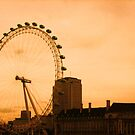 The London Eye by Suzanne German