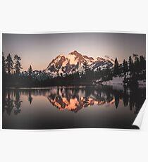 Mount Shuksan Beautiful Evening II Poster