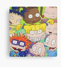 Rugrats Group Canvas Print