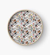 Kawaii Ghibli Doodle Clock