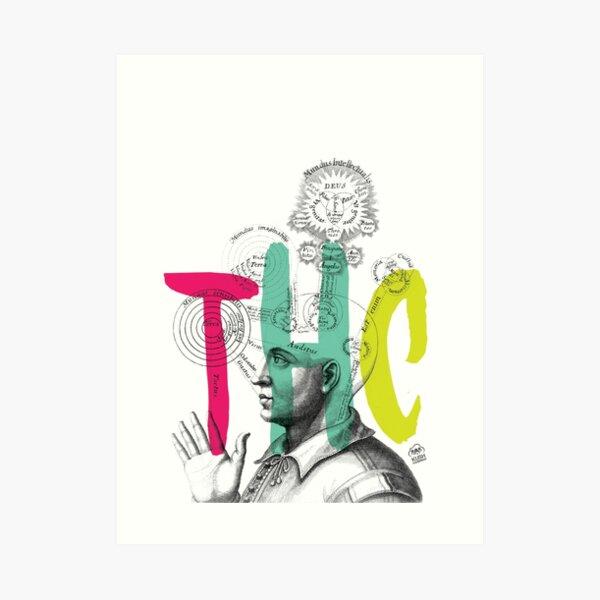 THC Minds Art Print