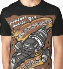 Browncoat Tours  Graphic T-Shirt
