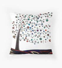 Taken with the Wind Throw Pillow