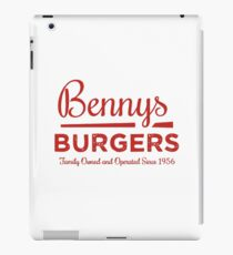 Stranger Things benny's burger iPad Case/Skin