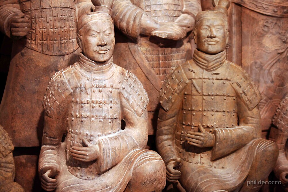 Short guys in front......Terra Cotta Warriors by phil decocco