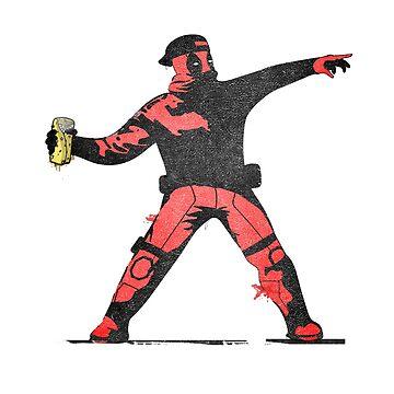 Throwing chimichangas!  by KarmaMek