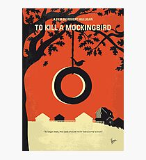No844 Mein, um ein Spottdrossel minimales Filmplakat zu töten Fotodruck